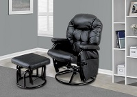 I-7291 Recliner Chair With Ottoman