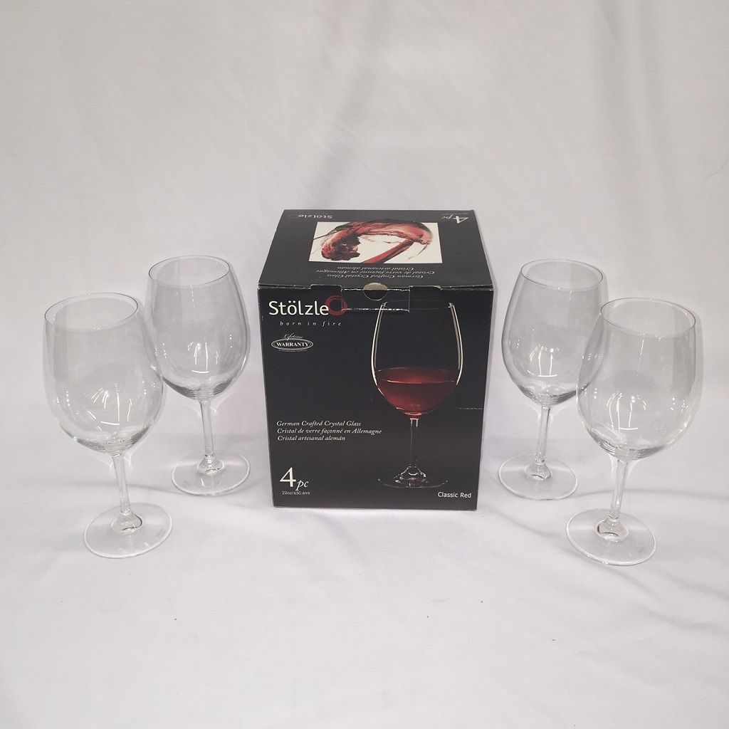 Sta 94906 Wine Glass 4pcs Set Furtado Furniture
