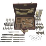 STA-Capri Silver Cutlery 78pcs Set