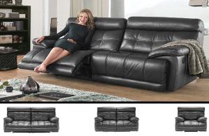 IF-8005 Leather Sofa Set