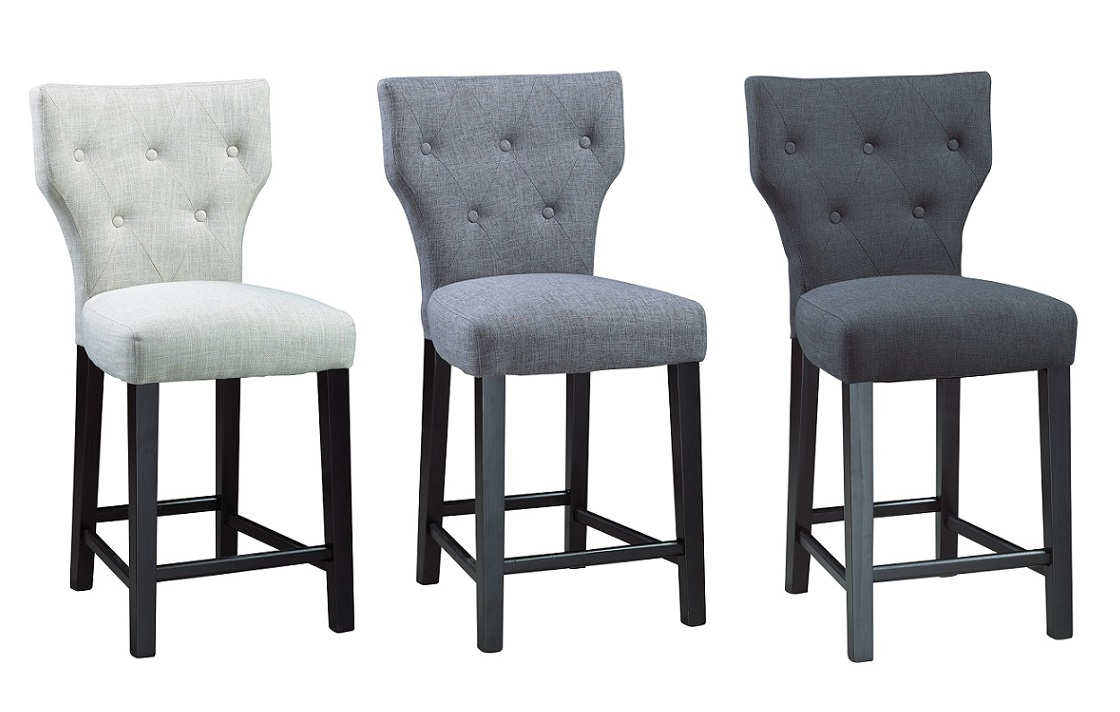 GY B Fabric Bar Stool