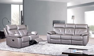 KW-3099 Recliner Leather Sofa Set