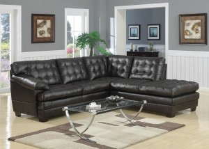 KW-9176 Leather Sofa Sectional