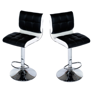 MDS-51-303 Rouge Leather Bar Stool