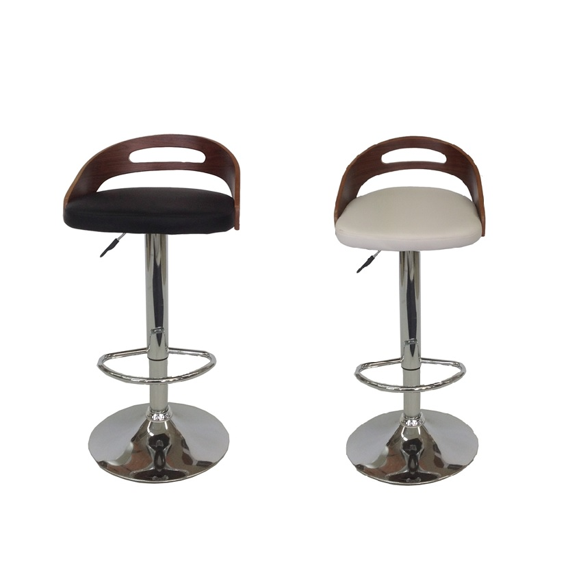 Mds 51 052 Bucket Leather Bar Stool Furtado Furniture