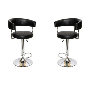 MDS-51-022 Jameson Leather Bar Stool