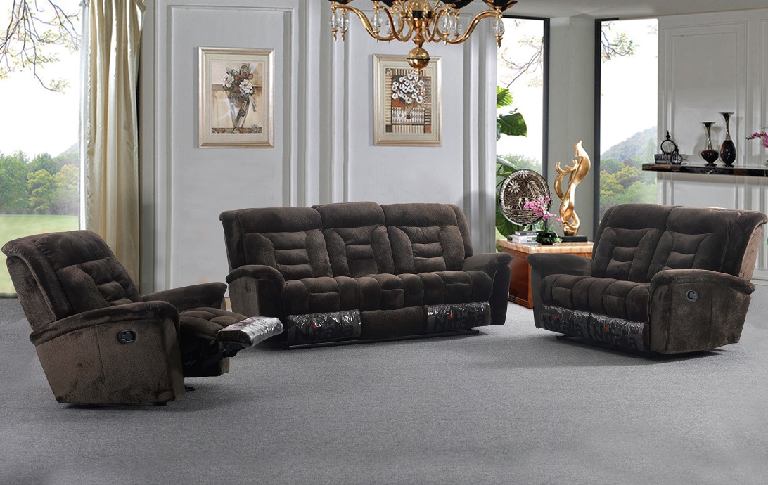 Champion Recliner Sofa Set