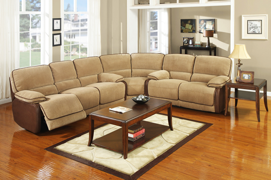 furniture set products jennifer power foster piece sectional with recliner reclining