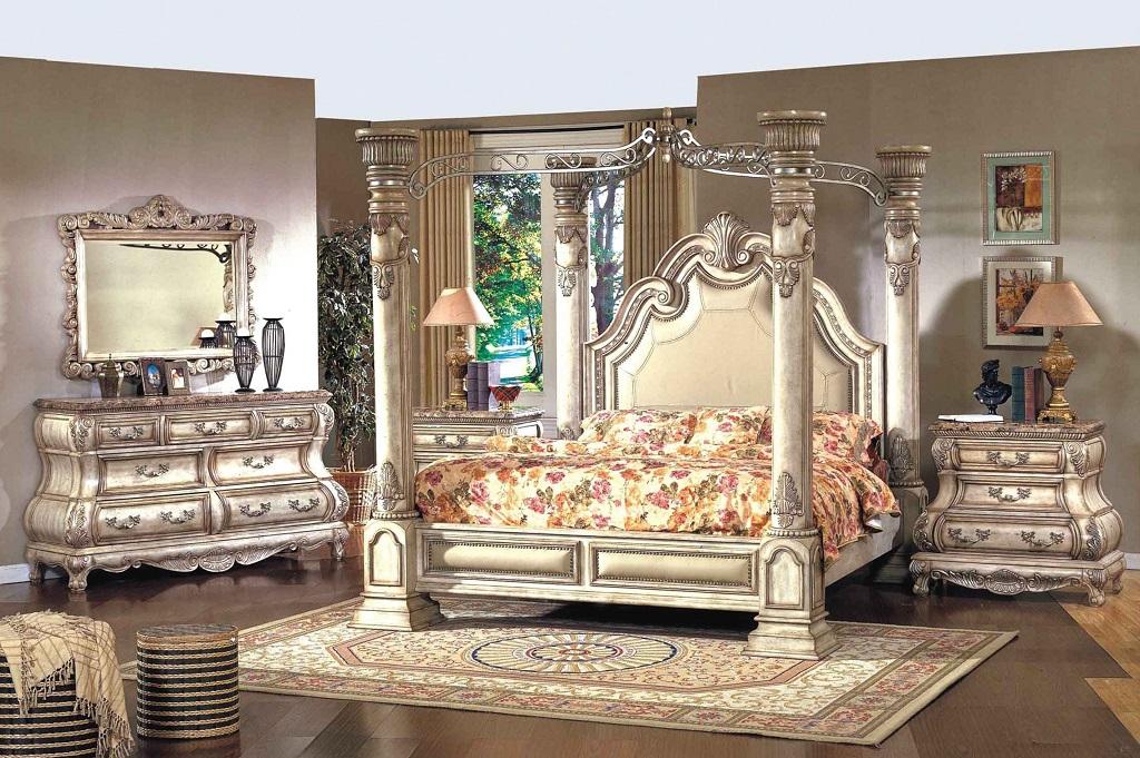 Olympia White Bedroom Set