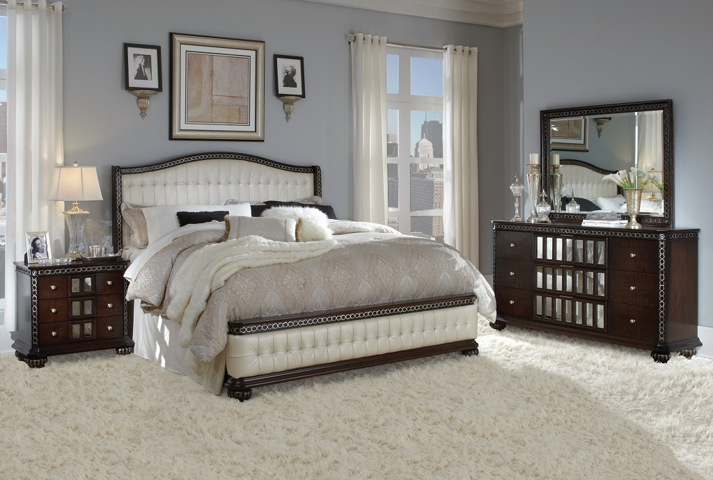 High End Traditional Bedroom Furniture pinto bedroom set - furtado furniture