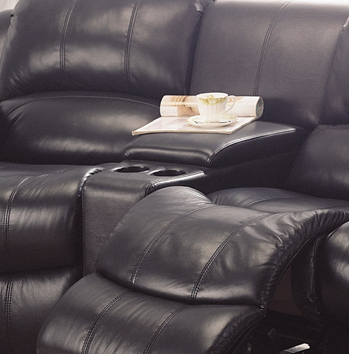 Home Theater Sofa Close View Furtado Furniture