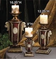 C435 Deco CandleHolders