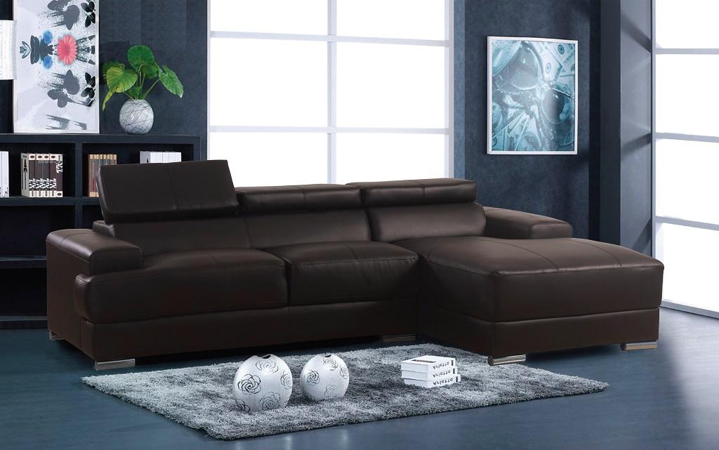 R1210  Espresso Sofa Lounger