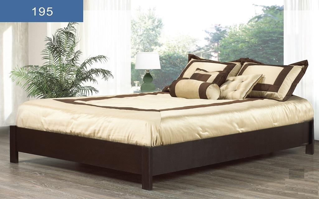 Wooden Platform Beds