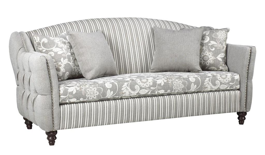 AC4300 Grey Fabric Sofa