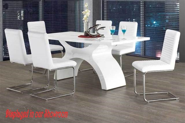 DINNING TABLE INT-1040-W-floor