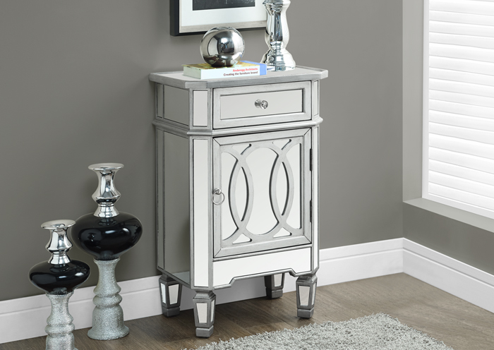 I3707 Mirrored Night Stand