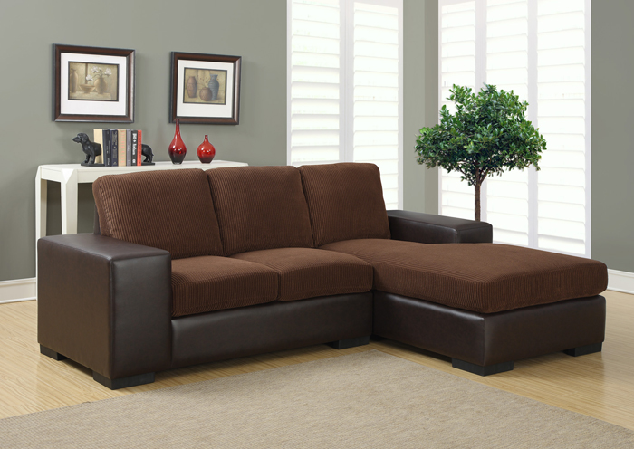 I8200BB Brow Fabric Lounger