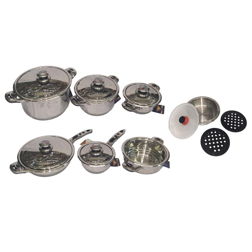 STA-8217 Cookware 16pcs Set