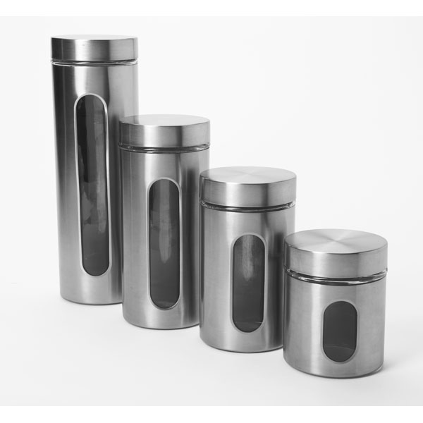 STA-97564 Food Canister 4pcs Set