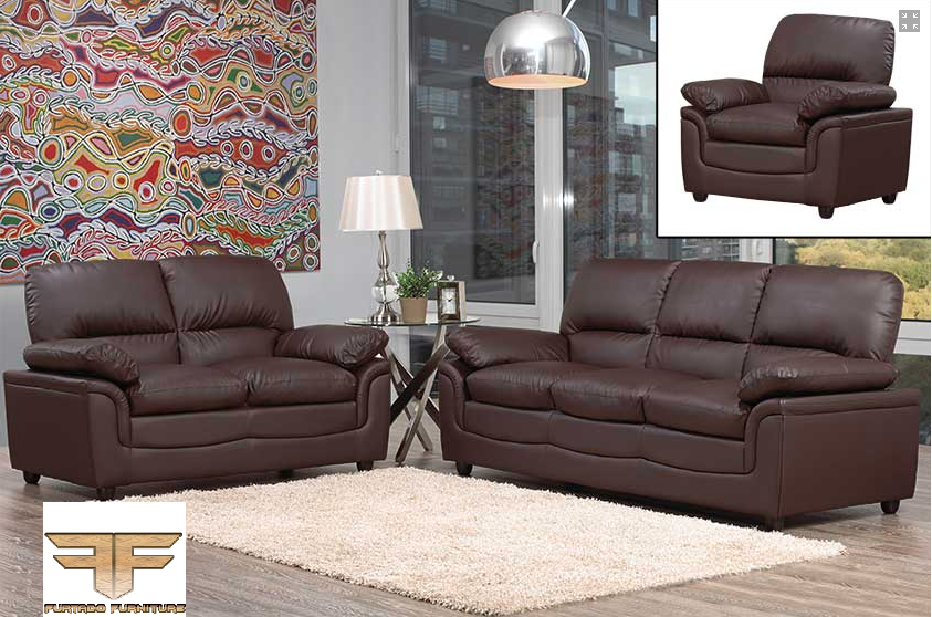 IF-8065-66 Leather Sofa Set