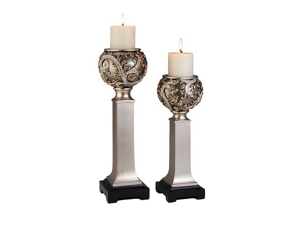 STA-OK-4232C Candle Holder Set