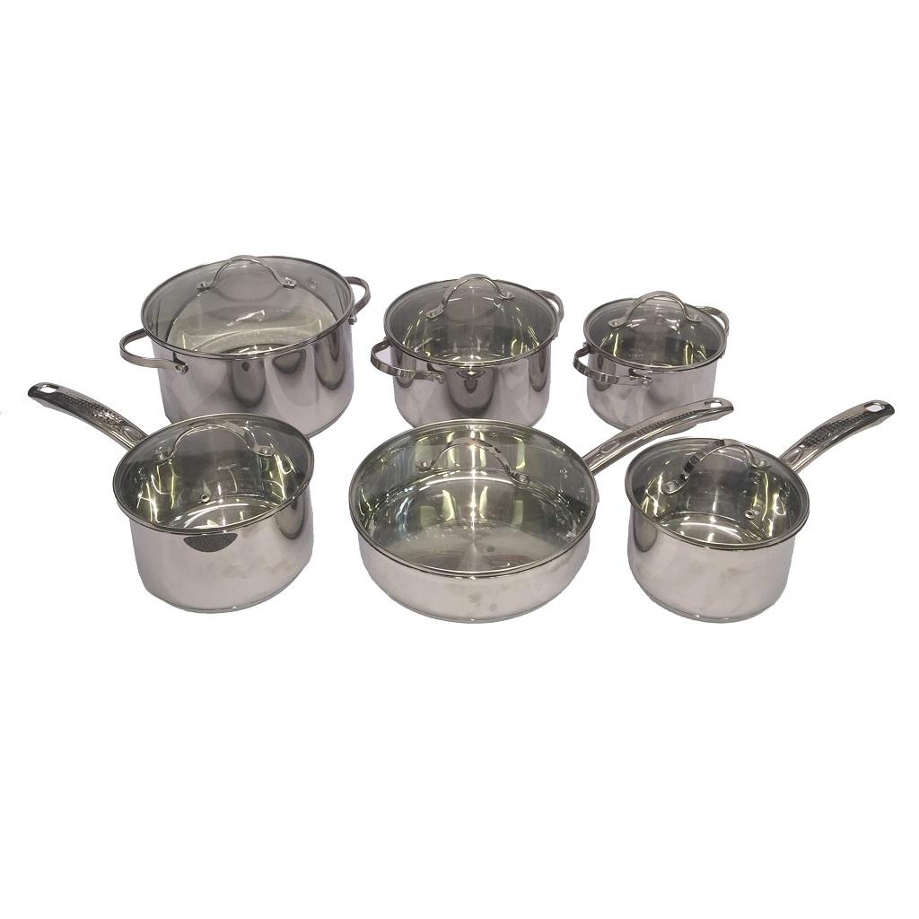 STA-RW1288 Cookware 12pcs Set