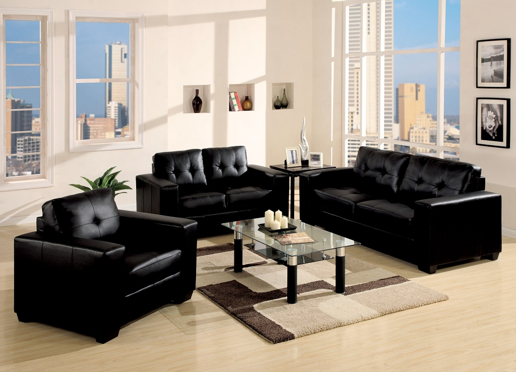 KW-2460 Leather Sofa Set