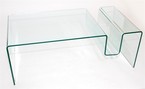 MDS52_575 Glass Coffee Table