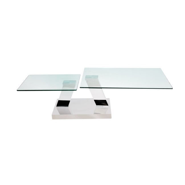 MDS-53-115 Elvis Glass Coffee Table