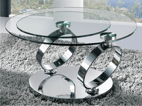 "Dimensions: Open 50""L X 30""W X 17""H Closed 30""L X 30""W X 17""H All dimensions are displayed in inches. Features: Base Swivel 360 Degrees Space Saver (Open & Close) Color and Material: 12mm Tempered Glass Chrome Legs & base"