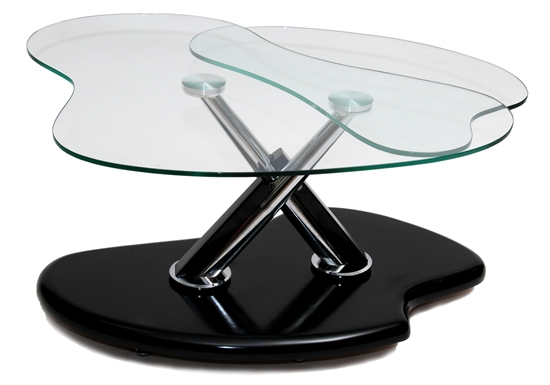 MDS-53-308 Silvio Glass Coffee Table