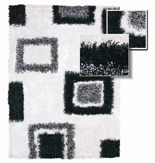 MDS-30-107-L Square Texture Rug