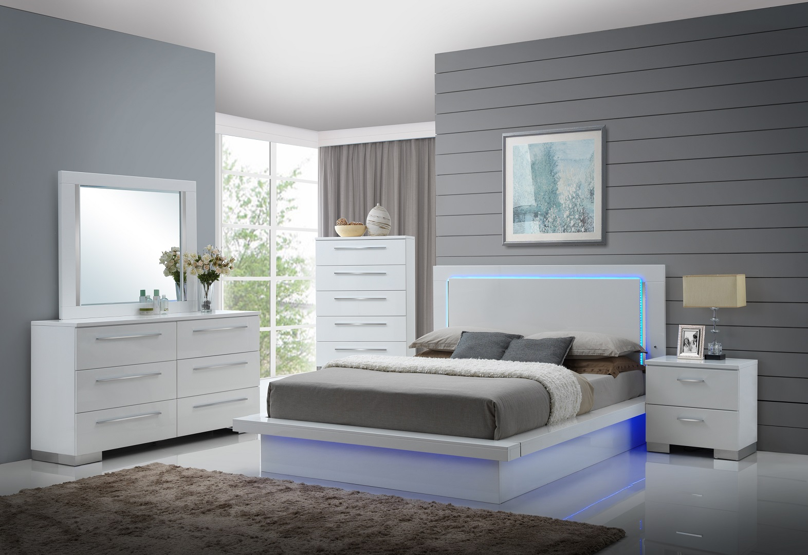 Gl2913 Sapphire Bedroom Set Furtado Furniture