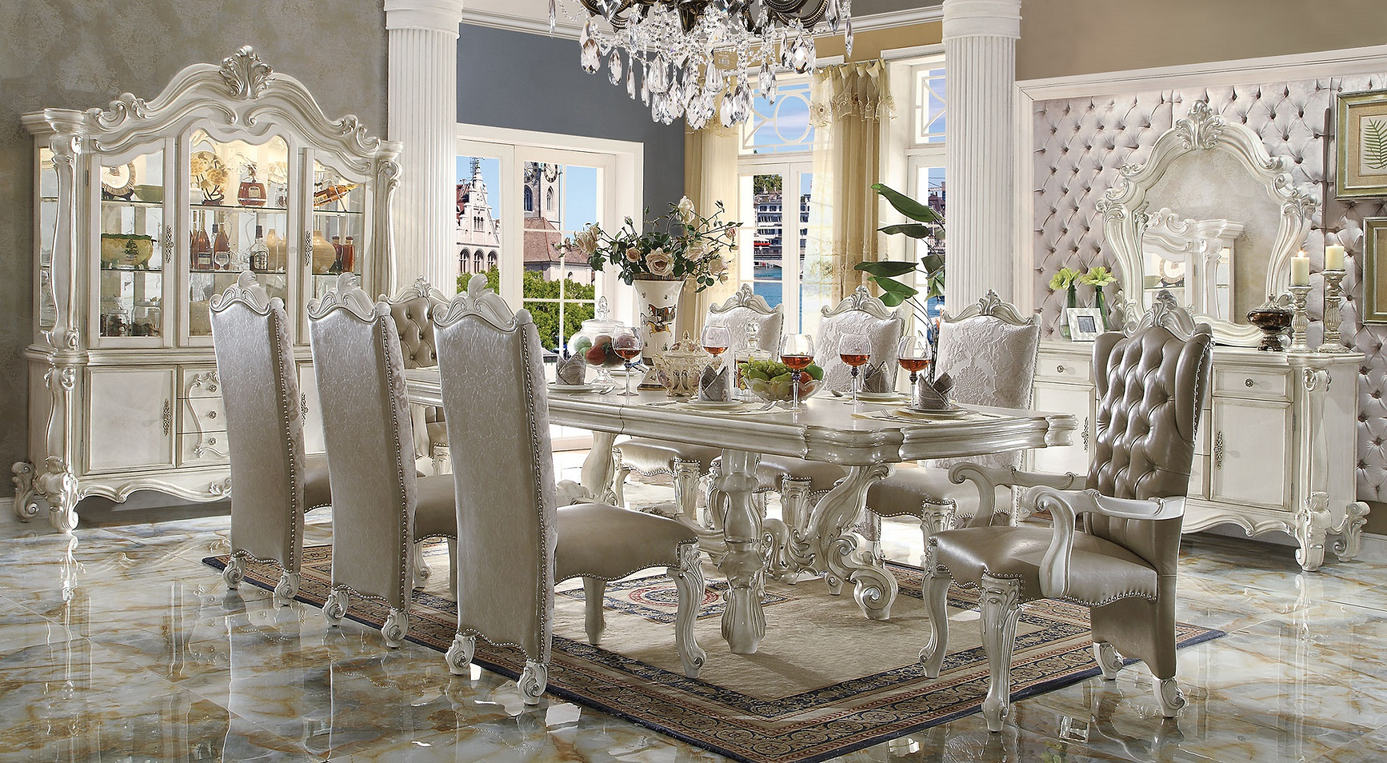 formal dining rooms with columns. curtis dining room formal rooms with columns