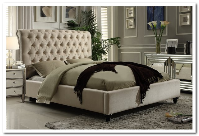 CHT-511BE Upholstered Bed