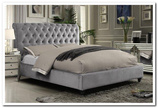511 Victoria grey bed