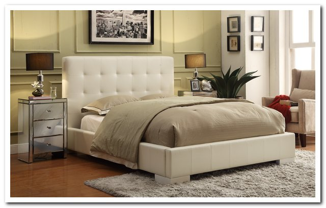 CHT-369WH Upholstered Bed