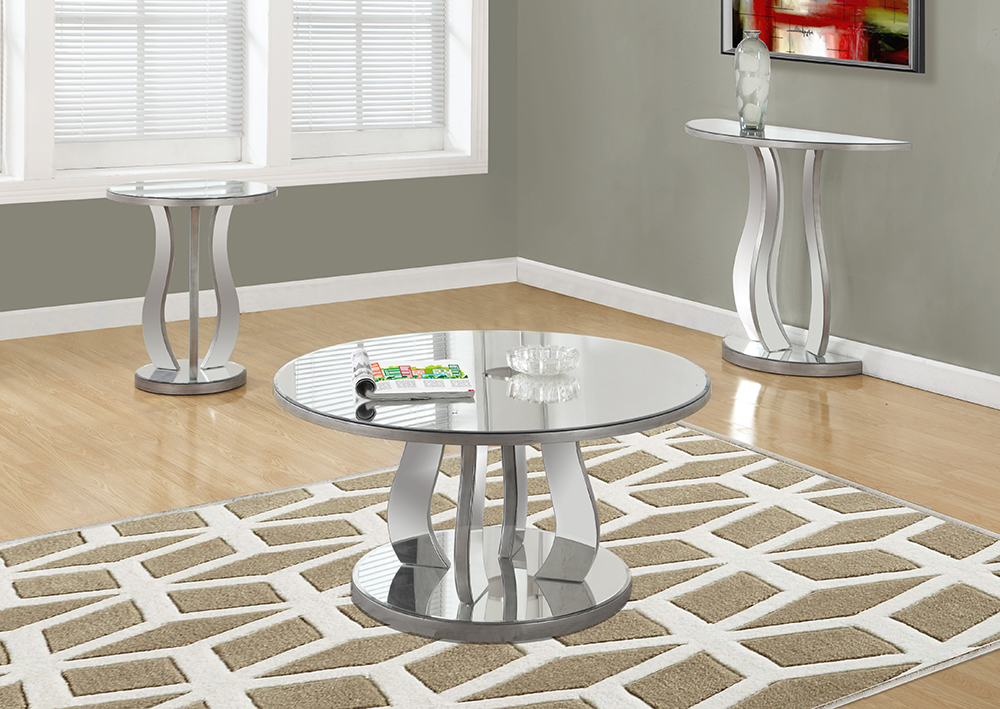 I-3725 Mirrored Coffee Table