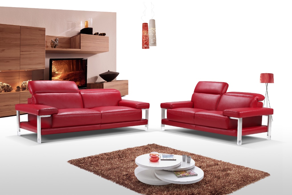 GL-6245 Kennedy Leather Sofa Set - Furtado Furniture
