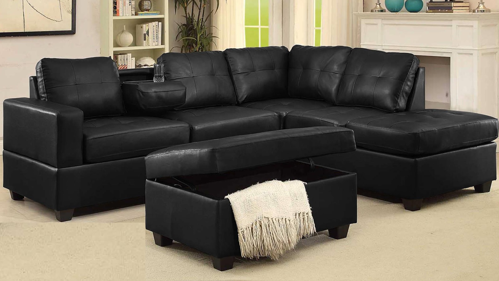 SECTIONAL-BOL-TANYA-BLACK