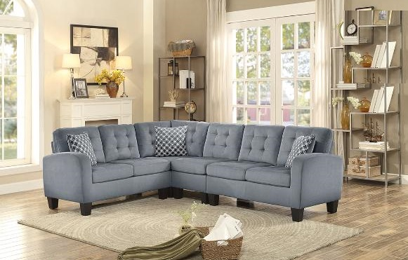 SECTIONAL-8202GRY-BARCELONA