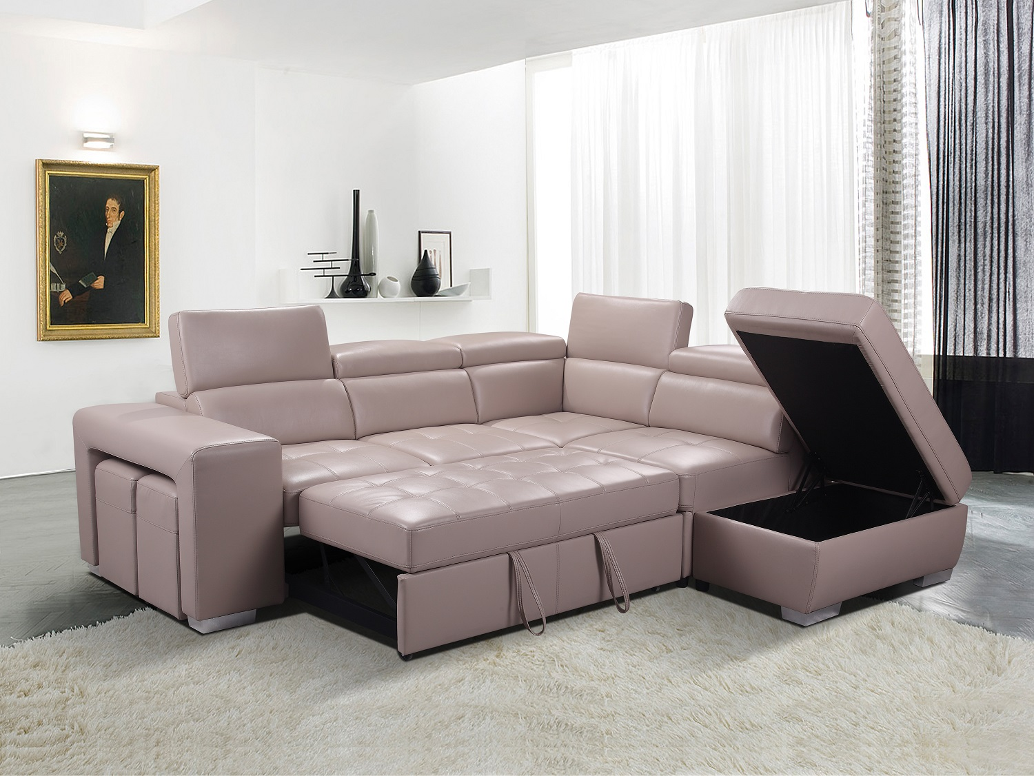 SECTIONAL-GL 6239 POSTIANO