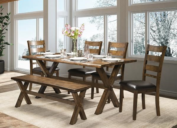 DININGTABLE-MAZ-5020 6pc-ROSTER