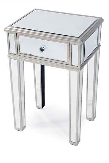 MIRRORED NIGHT TABLE-MDS-40-234