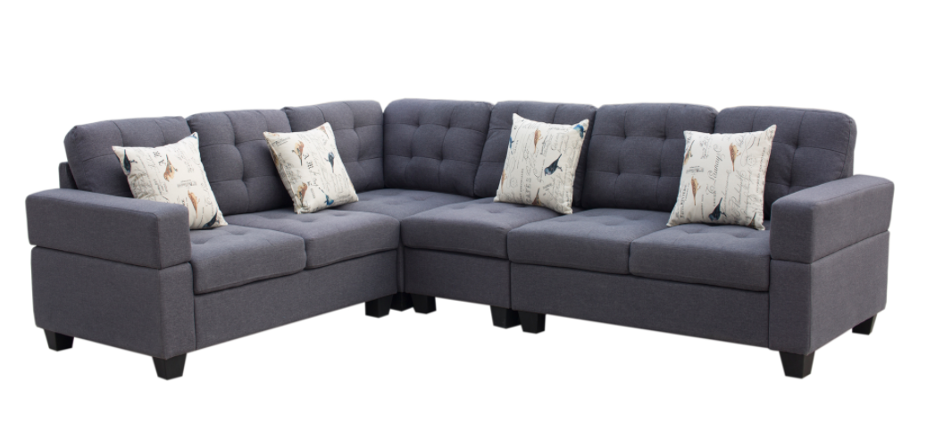 SECTIONAL-GL-EMERSON GREY